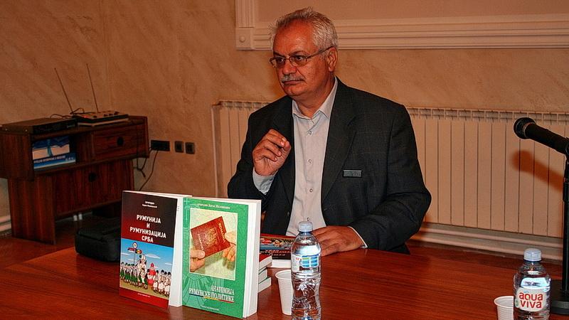Video rumunizacija Srba sa promocije knjige Zorana Miloševića