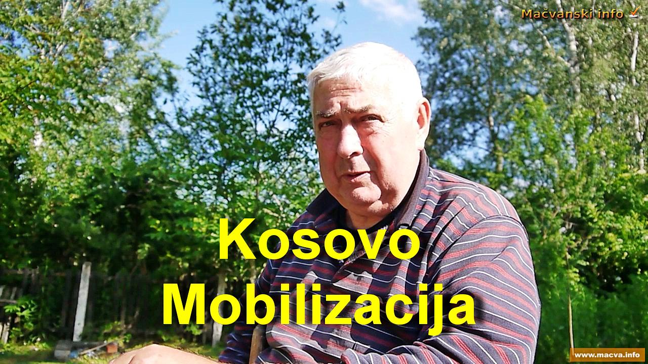 Kosovo – mobilizacija, video  tema čestitog oficira Milenka Kovića  iz Bogatića