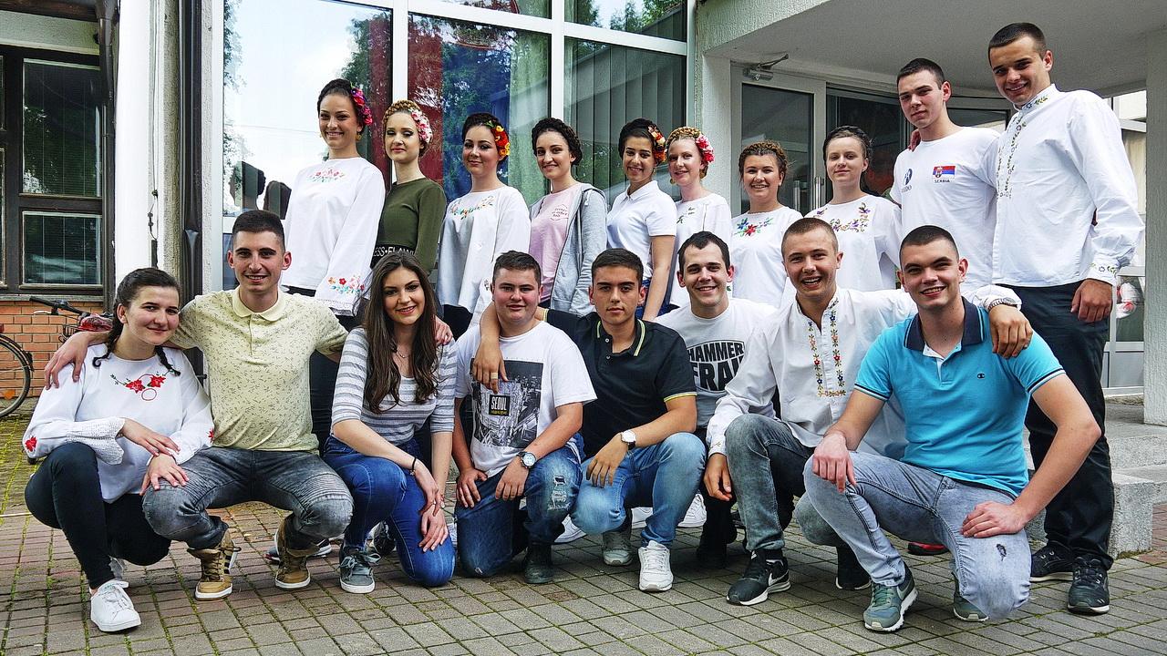 """Nastup FA ,, Djido """" iz Bogatića – Međunarodni Festival  Folklora"""