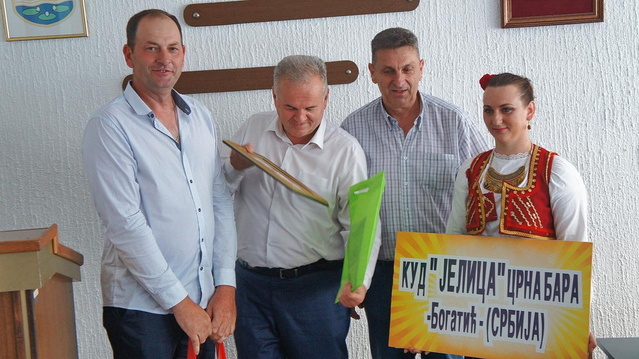 Kud Jelica u gostima u Srbcu – načelnik ugostio folkloraše iz četiri zemlje