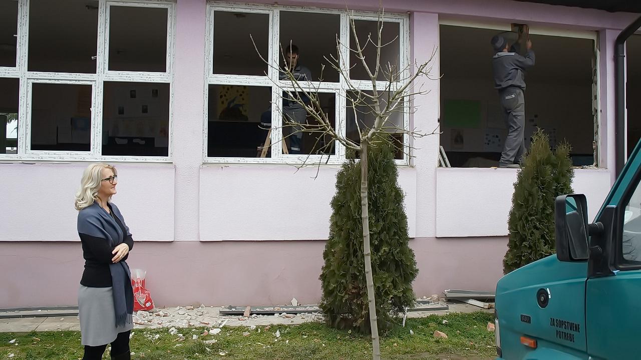 Radovi na energetskoj efikasnosti osnovne Škole u Crnoj Bari