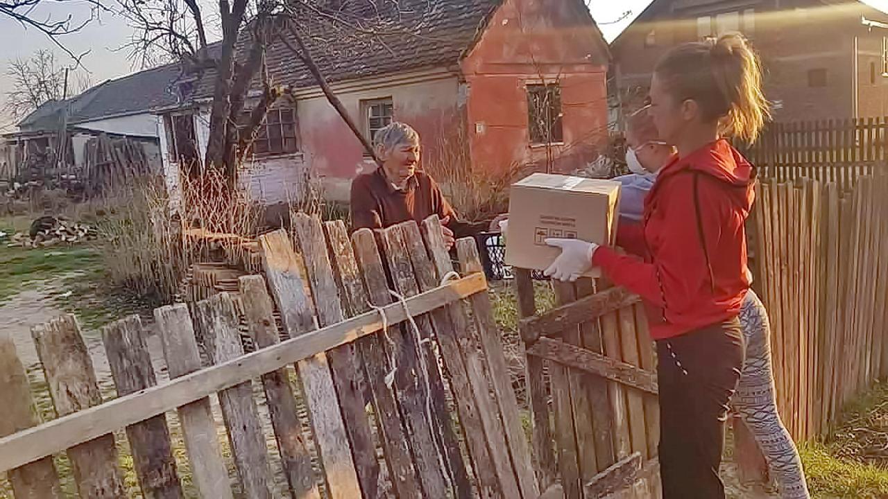 Podeljena pomoć ugroženim pojedincima i porodicama u Crnoj Bari
