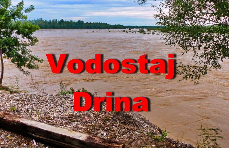 Video – Visok vodostaj reke Drine Crna Bara
