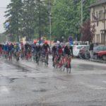 """Učesnici 11. Međunarodne biciklističke trke """"Beograd – Banjaluka"""" kroz Bogatic"""