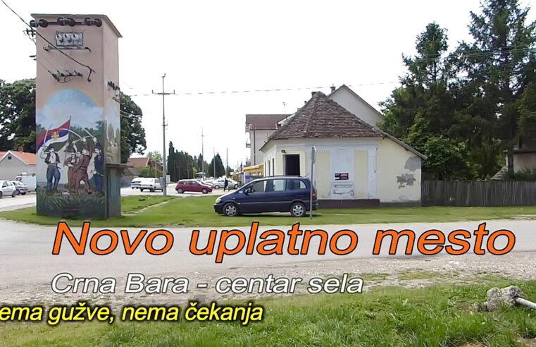 NOVO uplatno mesto svih računa u Crnoj Bari