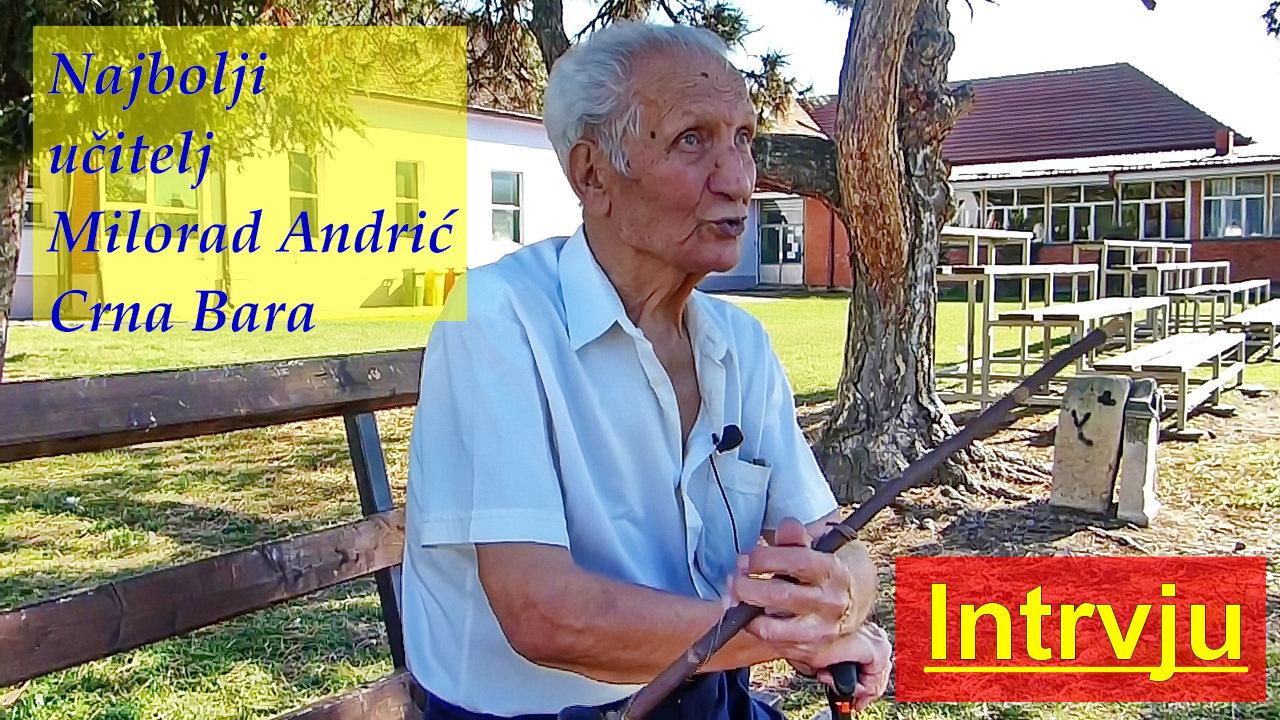 Milorad Andric - ucitelj